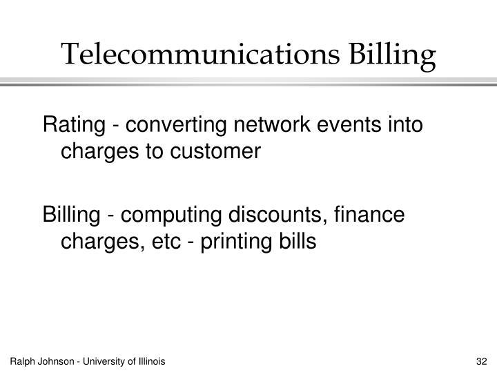 Telecommunications Billing