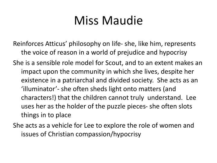 Miss Maudie