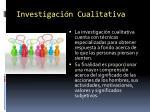 investigaci n cualitativa