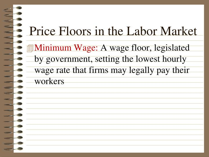 Price Floors in the Labor Market