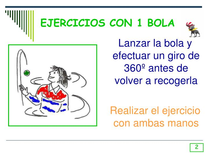EJERCICIOS CON 1 BOLA