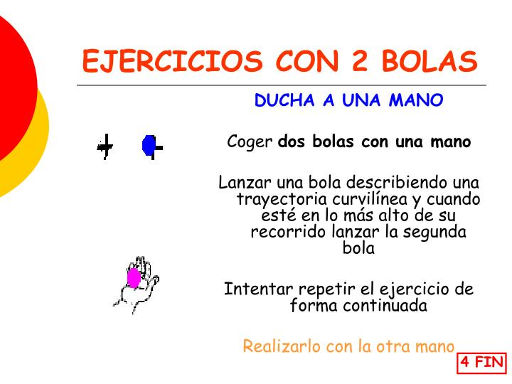 EJERCICIOS CON 2 BOLAS