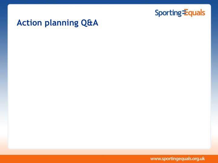 Action planning Q&A