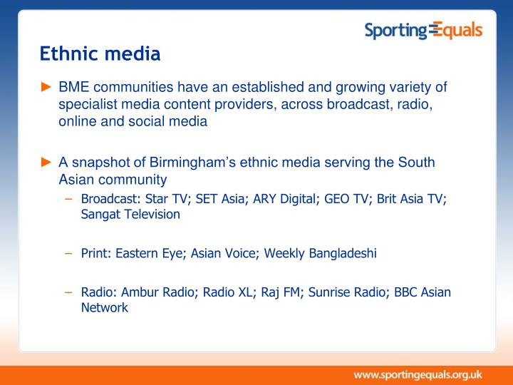 Ethnic media