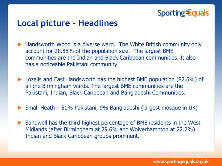 Local picture - Headlines