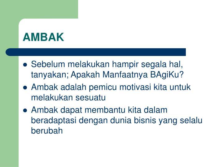 AMBAK