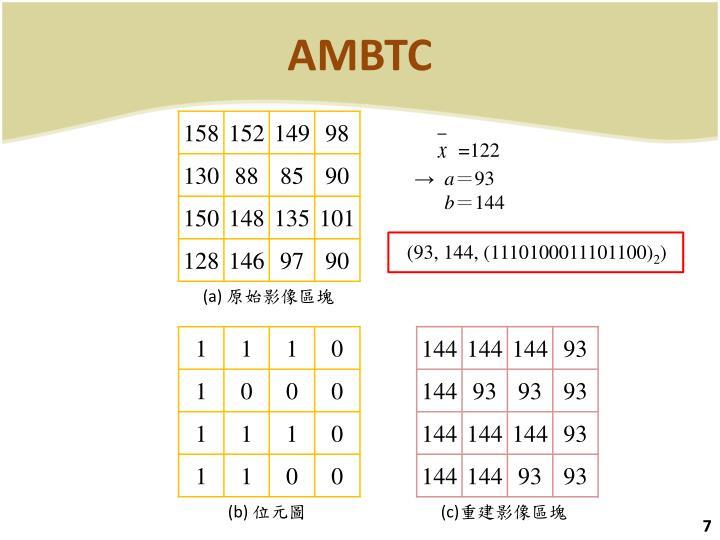 AMBTC