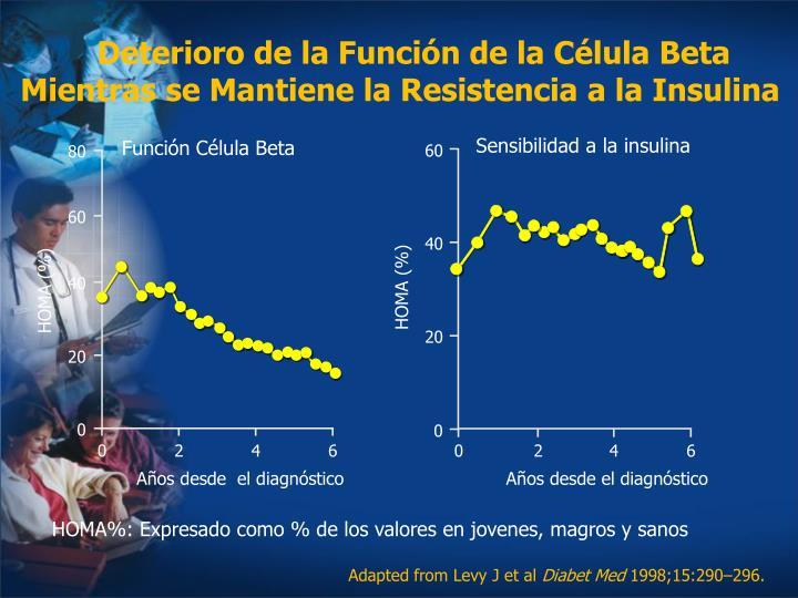 Deterioro de la Función de la Célula Beta