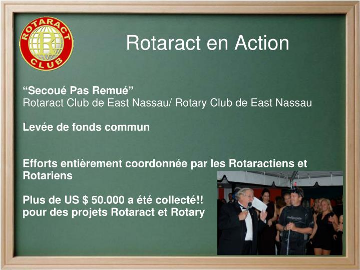 Rotaract en Action