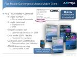 fixe mobile convergence aastra mobile client