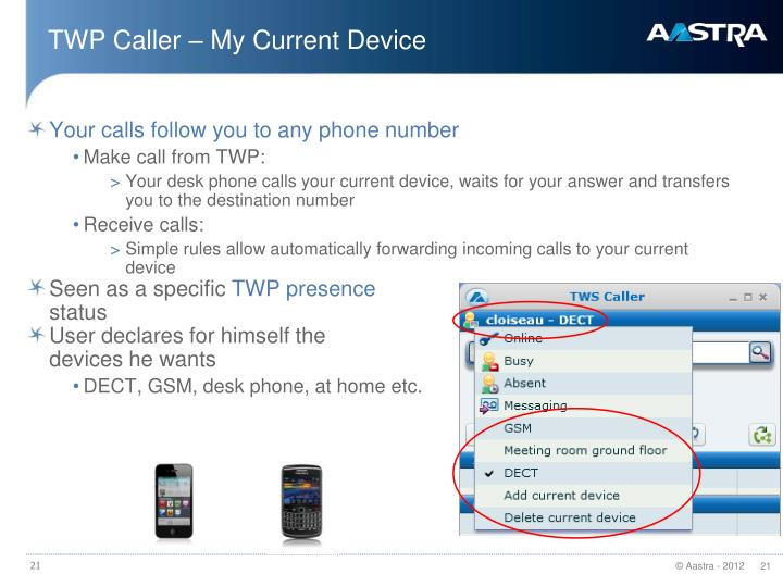 TWP Caller – My Current Device