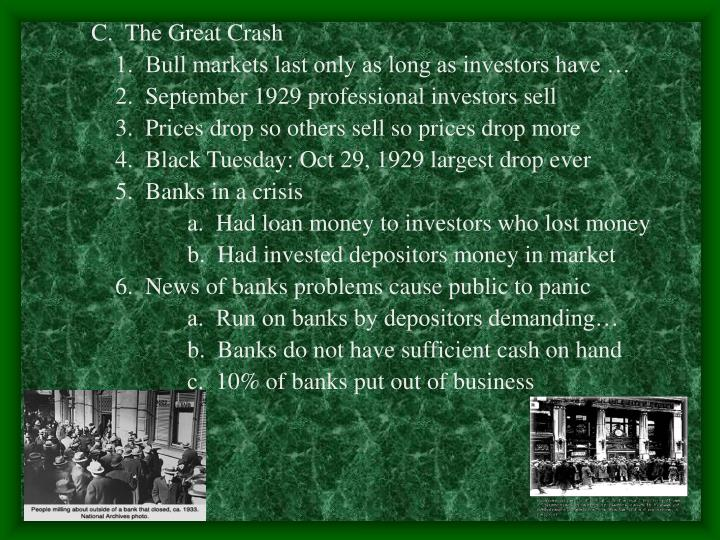 C.  The Great Crash