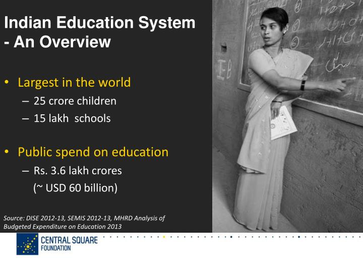 Indian education system an overview