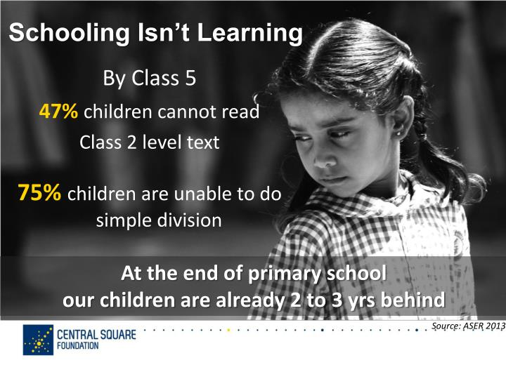 Schooling Isn't Learning