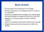 bone growth