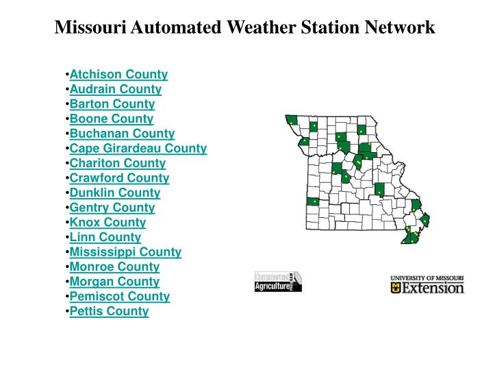 Missouri Automated Weather Station Network
