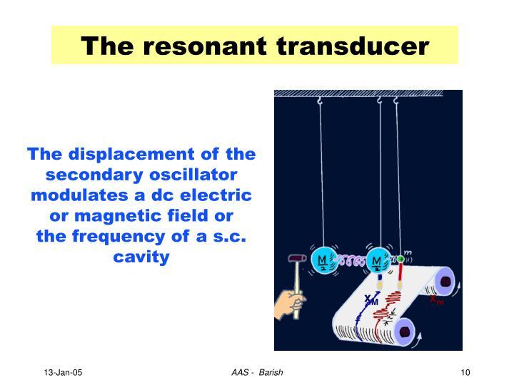 The resonant transducer