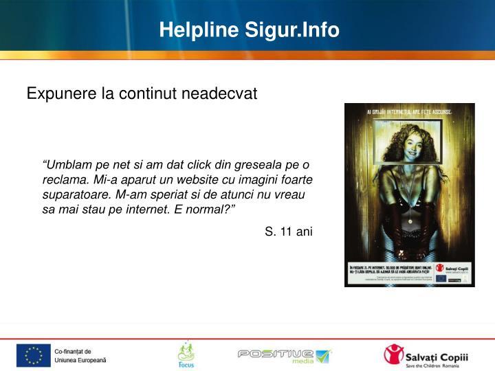 Helpline Sigur.Info