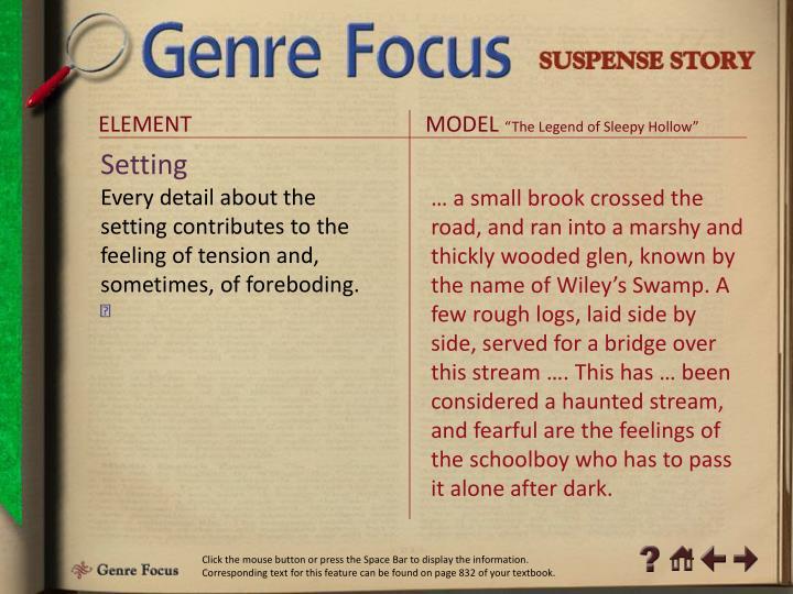 Genre Focus 3