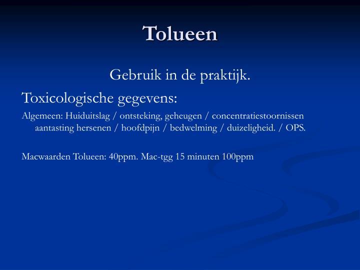 Tolueen