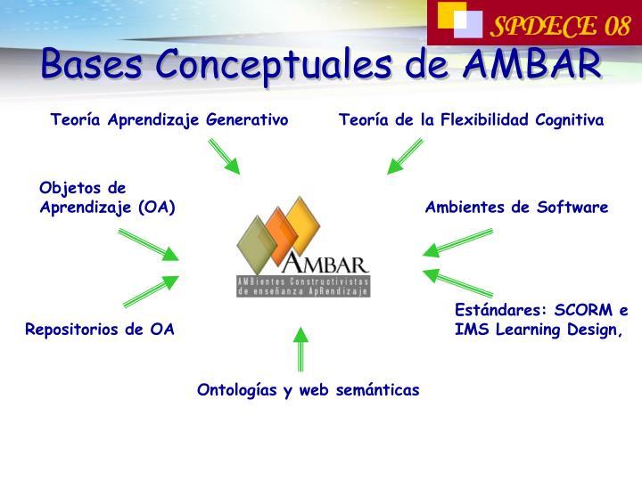 Bases Conceptuales de AMBAR