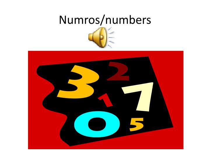 Numros