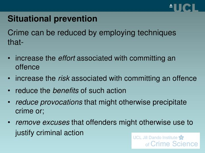 Situational prevention