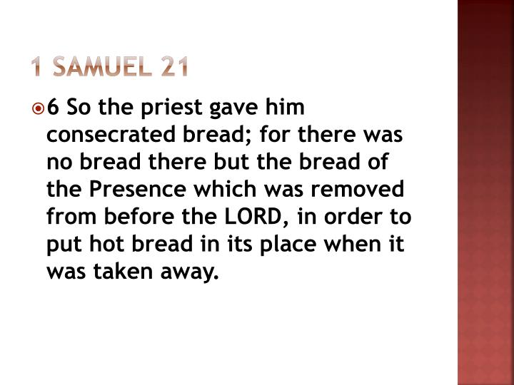 1 Samuel 21