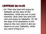 leviticus 26 14 35