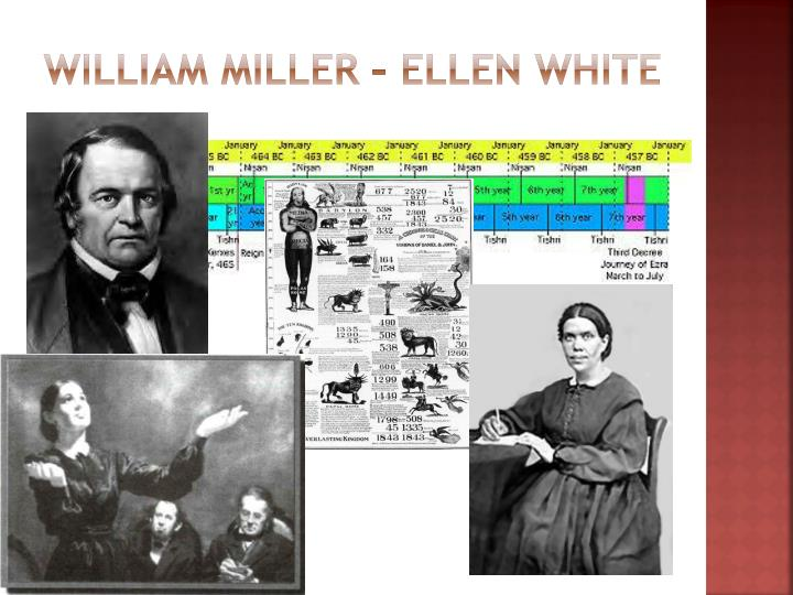 William Miller – Ellen White