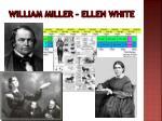 william miller ellen white