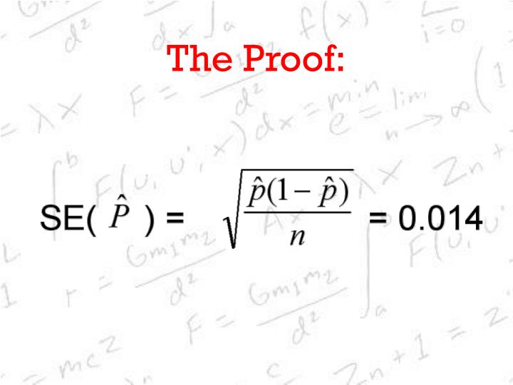 The Proof: