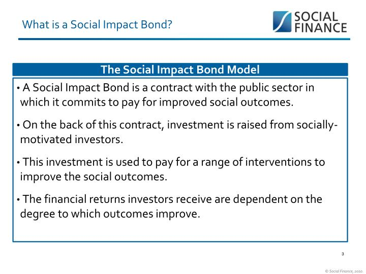 What is a social impact bond