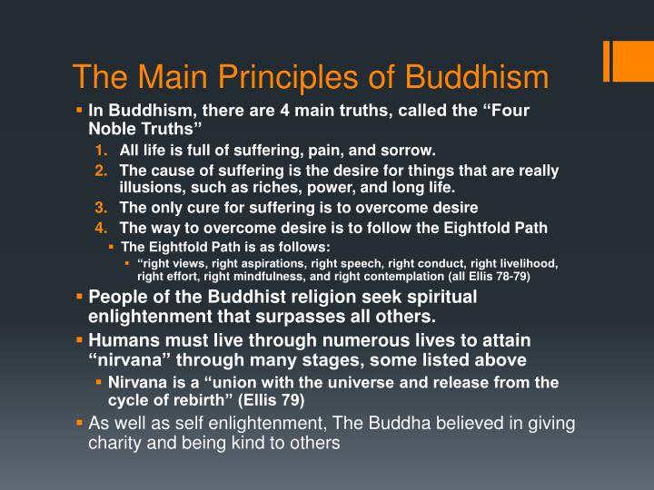 The main principles of buddhism