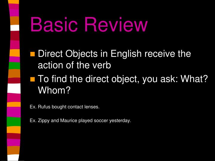 Basic review