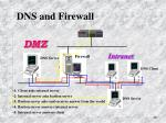 dns and firewall