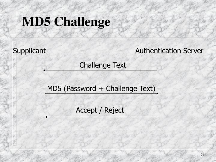 MD5 Challenge