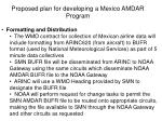 proposed plan for developing a mexico amdar program5