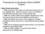 proposed plan for developing a mexico amdar program7