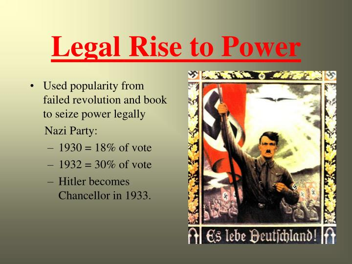 Legal Rise to Power