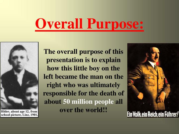 Overall Purpose: