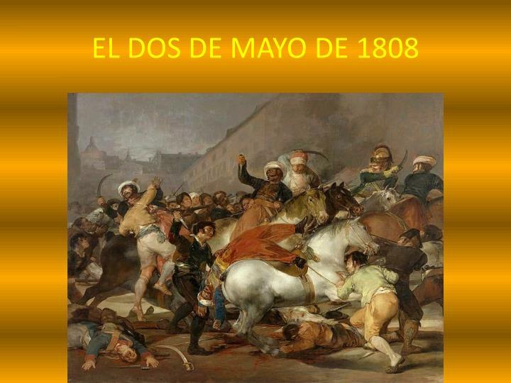 EL DOS DE MAYO DE 1808