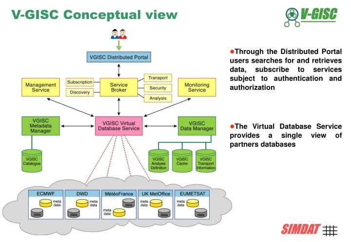 V-GISC Conceptual view