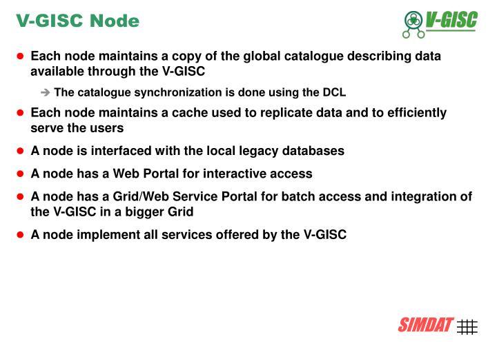 V-GISC Node