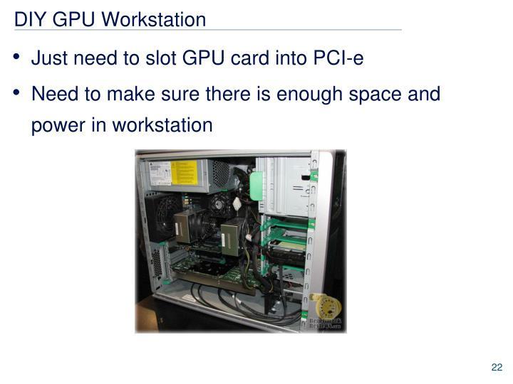 DIY GPU Workstation