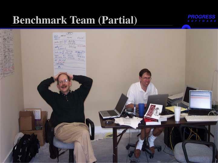 Benchmark Team (Partial)