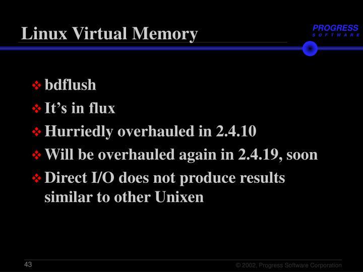 Linux Virtual Memory