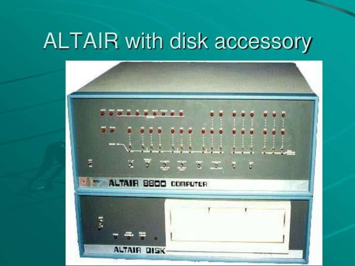 ALTAIR with disk accessory