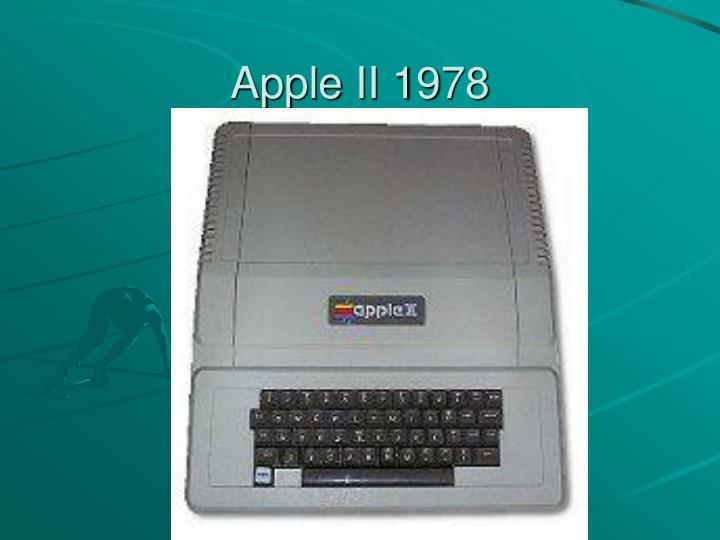 Apple II 1978
