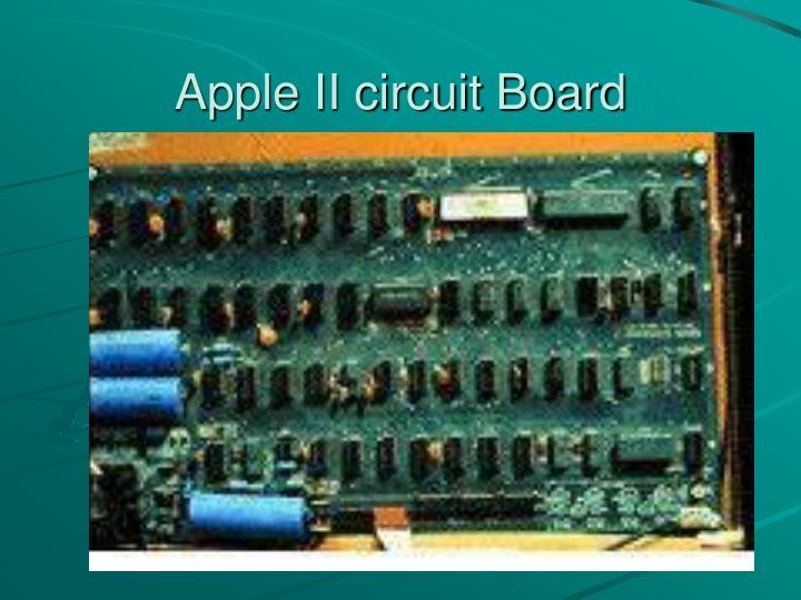 Apple II circuit Board